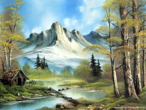 yagli-boya-manzara-resimlerindeki-derme-catma-ev_89797